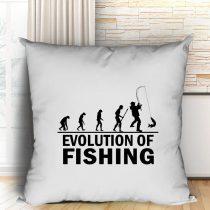 Horgász evolució párna