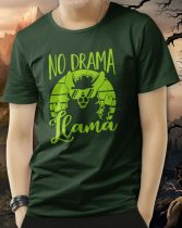 Llama póló -No drama