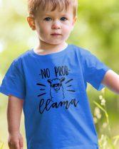 Lámás póló - No Prob llama gyerek póló