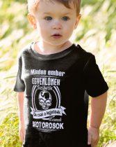 Póló motorosoknak - Legjobbak lesznek motorosok gyerek póló