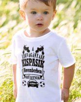Szülinapi gyerek póló - A legvagányabb kispasik