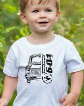 Trabant 601 gyerek póló