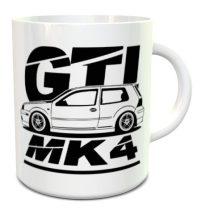 Volkswagen GTI Mk4 bögre