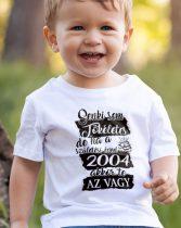 Gyerek póló szülinapra - Senki sem tökéletes