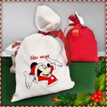 Mickey Mouse mikulás zsák