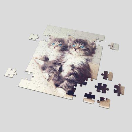 Fényképes puzzle egy fotóval A4