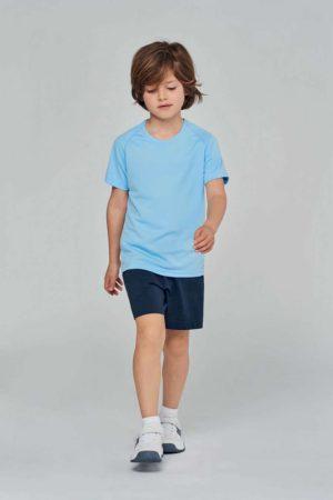Egyedi fényképes gyerek póló (sport)