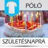 Pólók születésnapra, névnapra