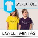 Saját grafikás gyerek pólók