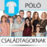 Pólók családtagoknak
