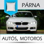 Autós, motoros párnák