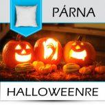 Halloween mintás párnák