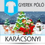 Karácsonyi gyerek pólók